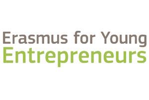 Logo Erasmus for Young Entrepreneurs 300x200