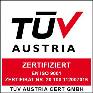 certificazione iso 9001 2015 tuv austria