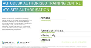 Autodesk Authorised training centre 2021